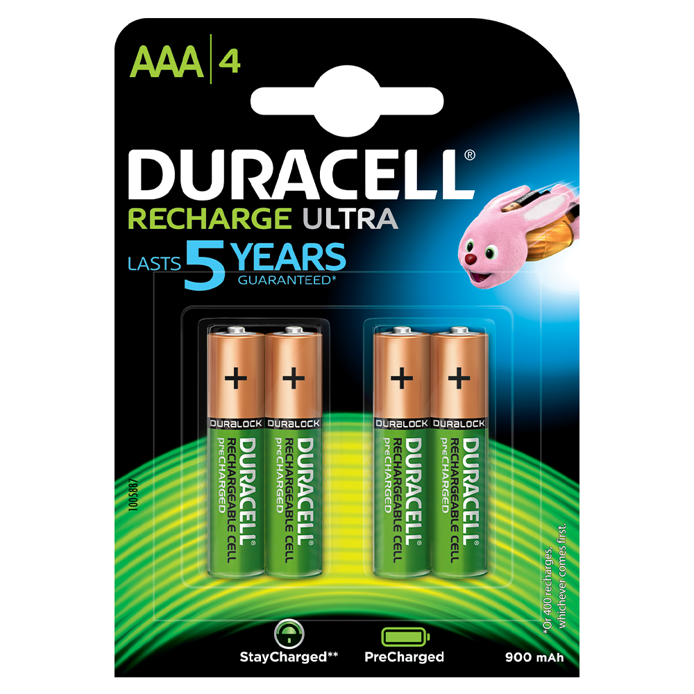 cc91fa290b9 Pilas Duracell Recharge Ultra AAA